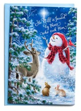Snowman Gazer & Friends Christmas Cards, Box of 18