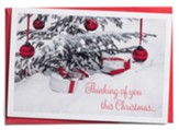 Thinking of You This Christmas Christmas Cards, Box of 18