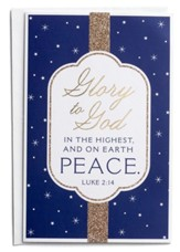 Glory to God in The Highest Christmas Cards, Box of 18