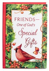 Friends-One of God's Special Gifts Christmas Cards, Box of 18