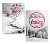 Peaceful Moments, Lasting Memories, Christmas Cards, Box of 24