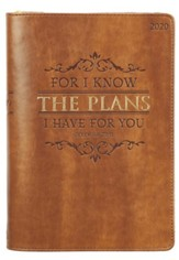 For I Know the Plans I Have For You, 2020 Executive Planner  with Zipper
