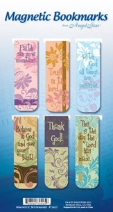 Believe, Trust, Assorted Magnetic Bookmarks, Set of 6