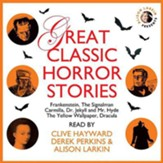 Great Classic Horror Stories, Unabridged Audiobook on CD