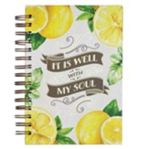 It Is Well With My Soul, Lemons, Wirebound Journal