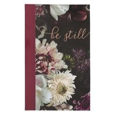 Be Still Journal, Flexcover, Floral