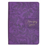 Amazing Grace Handy Journal, Purple