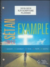 God's Word in Time Scripture Planner: Set An Example  Elementary/Middle School Teacher Edition (KJV Version;  August 2018 - July 2019)
