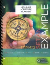 God's Word in Time Scripture Planner: Set An Example  Secondary Teacher Edition (ESV Version; August 2018 - July  2019)