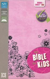 NIV Bible for Kids: Red-Letter Edition, Italian Duo-Tone, Pink - Slightly Imperfect