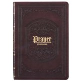 Faux Leather Prayer Journal, Brown