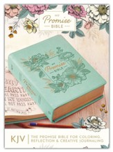 KJV My Promise Bible--imitation leather, teal