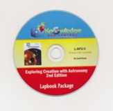 Lapbook Package PDF CD-ROM for Apologia's Exploring Creation with Astronomy (2nd Edition)