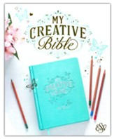 ESV My Creative Bible--imitation leather, teal