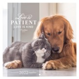 Love Is Patient 2022 Wall Calendar, Small