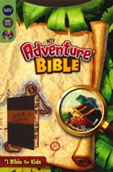NIV Adventure Bible, Italian Duo-Tone, Chocolate/Toffee - Slightly Imperfect