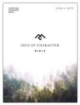 CSB Men of Character Bible, grey cloth over board