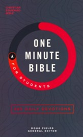 CSB One-Minute Bible for Students, softcover