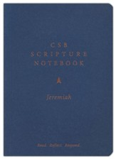 CSB Scripture Notebook, Jeremiah