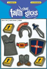 God's Armor Stickers