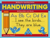 Writing Letters and Words Grade K