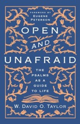 Open and Unafraid: The Psalms as a Guide to Life - unabridged audiobook on CD