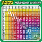 Multiplication-Division Learning Stickers