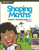 Shaping Maths Teacher's Planning  Guide 1A (3rd Edition)