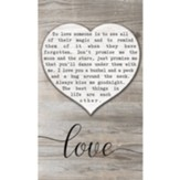 Love, Heart, Wall Plaque