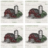 Farmer's Prayer Coaster Set