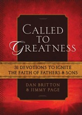 Called to Greatness: 52 Devotions for Fathers & Sons - eBook