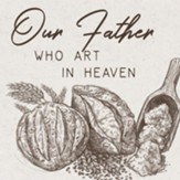 Our Father Who Art in Heaven Coaster