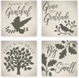 Grateful Coasters, Set of 4