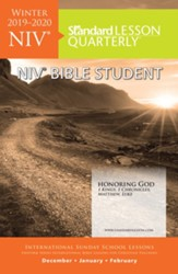 Standard Lesson Quarterly: NIV ® Bible Student, Winter 2019-20