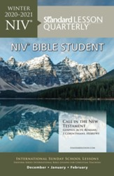 Standard Lesson Quarterly: Adult Student (NIV) Winter 20-21