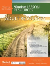 Standard Lesson Resources: Adult Resources, Winter 2019-20