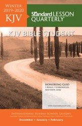 Standard Lesson Quarterly: KJV Bible Student, Winter 2019-20