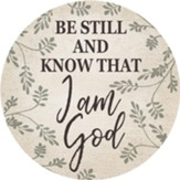 Be Still and Know Car Coaster