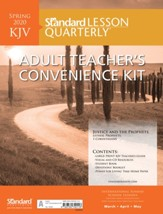 Standard Lesson Quarterly: KJV Adult Teacher's Convenience Kit, Spring 2020