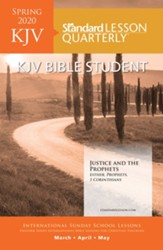 Standard Lesson Quarterly: KJV Bible Student, Spring 2020