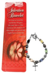Beads of Wisdom Bracelet & Bookmark: Salvation