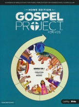 The Gospel Project for Kids: Home Edition Teacher Guide, Semester 1