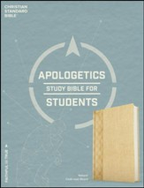 CSB Apologetics Study Bible for  Students, natural cloth over board