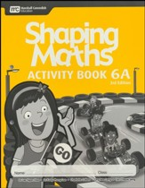Shaping Maths Activity Book 6A (3rd  Edition)