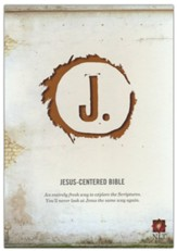 Jesus-Centered Bible NLT, Saddle