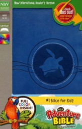 NIrV Adventure Bible for Early Readers, Italian Duo-Tone, Blueberry