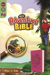 NKJV Adventure Bible, Italian  Duo-Tone, Raspberry