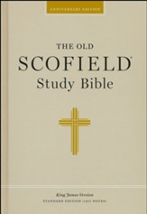 Authorized King James Version: The Old Scofield Study Bible, Hardcover
