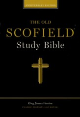 KJV Old Scofield Genuine Cowhide, Black KJV Old Scofield Classic
