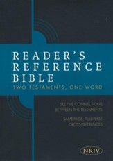 Reader's Reference Bible: NKJV Edition, Tan Cloth Over Board